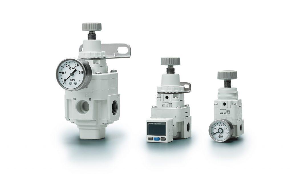 Série IR: Reguladores de pressão de precisão - SMC