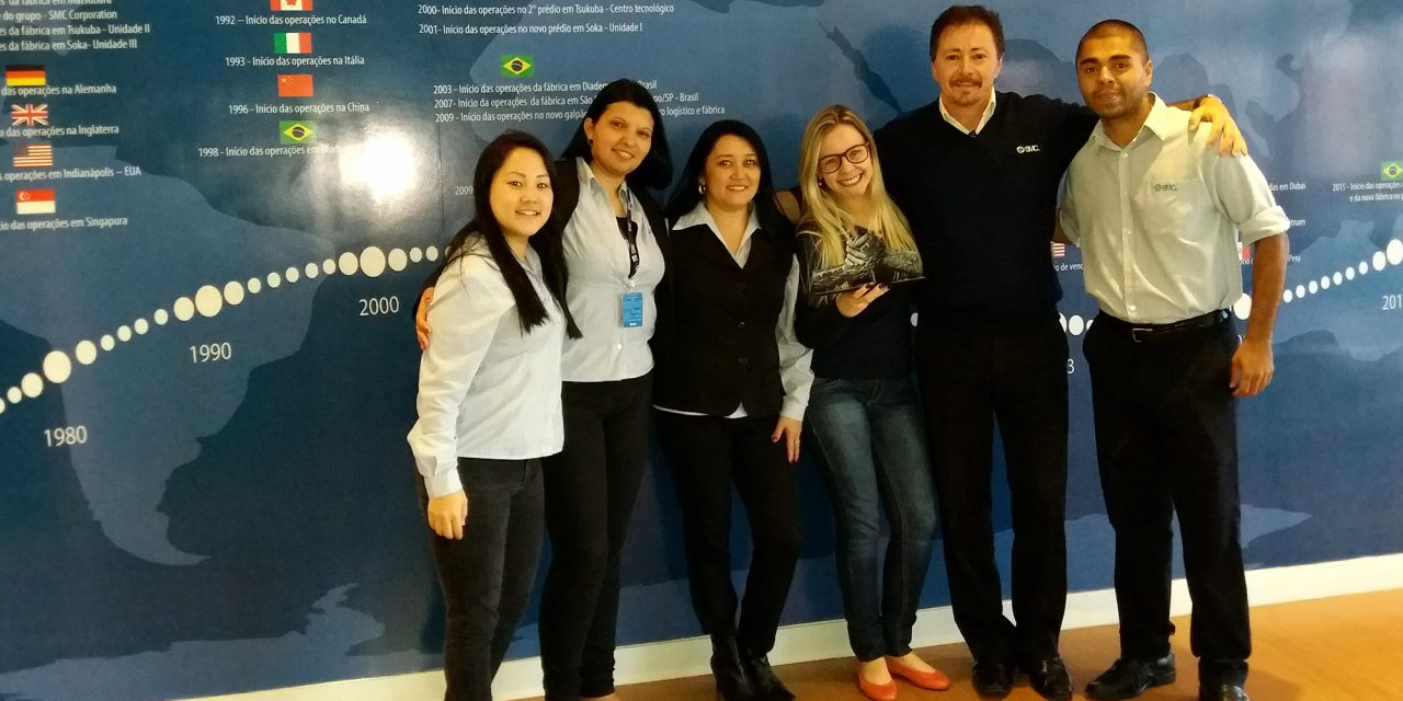 SMC ganha prêmio de fornecedor da Bridgestone