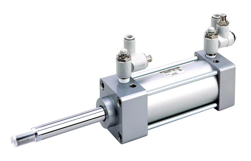 Válvula série ASR/ASQ aplicada ao Atuador