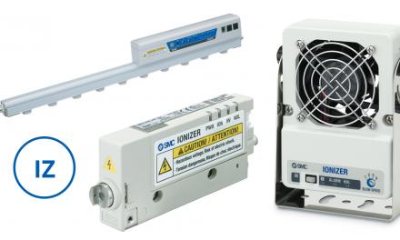 Ionizadores controlam a carga estática existente nos processos produtivos
