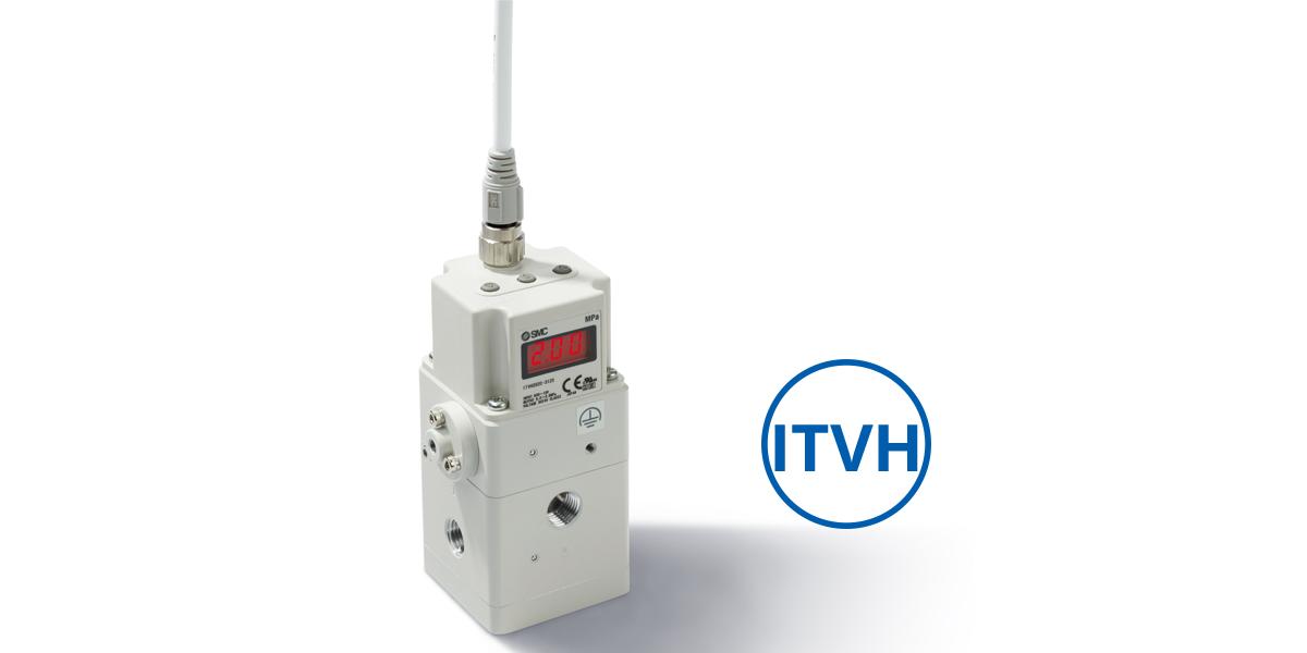 Regulador ITVH garante alta precisão na pressão de saída