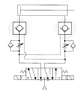 válvula de retenção pilotada AS-X8, SMC
