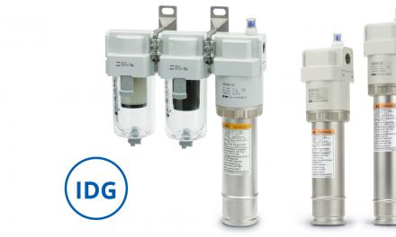 Secador da Série IDG_A remove a umidade do ar sem a utilização de energia elétrica