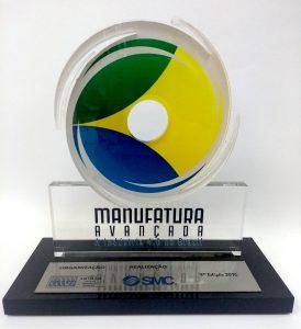 Troféu ABIMAQ Manufatura Avançada SMC - Indústria 4.0