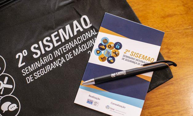 2º SISEMAQ reforça a importância da segurança em máquinas