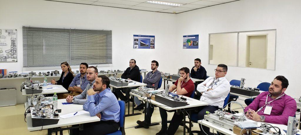 Nova sala de treinamento SMC