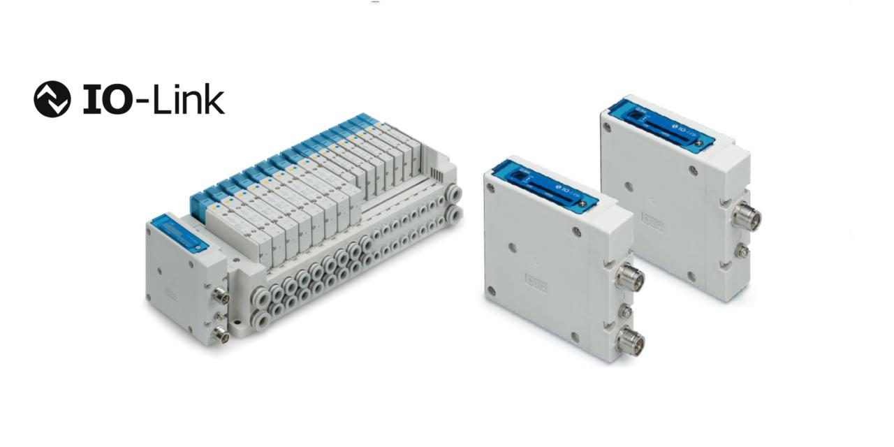 Bloco de válvulas com protocolo de comunicação Série EX260