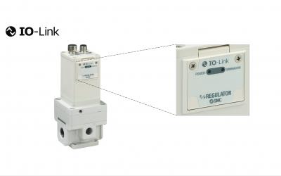 Reguladores eletropneumáticos com comunicação IO-Link Série ITV-X395