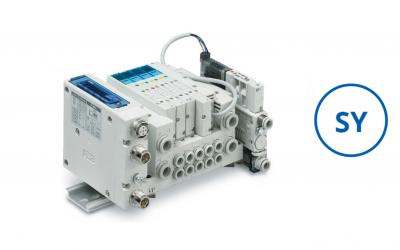Válvulas solenoides servo pilotadas – Série SY  Economize na conta de energia elétrica