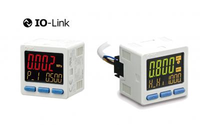 Pressostato Digital com comunicação IO-Link Série ISE20B-L