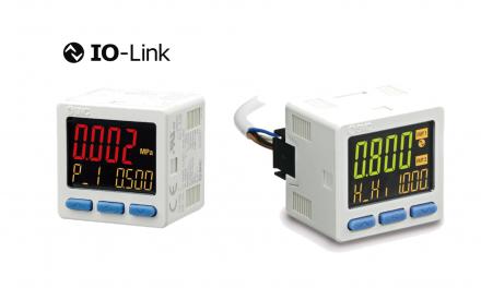 Pressostato Digital com comunicação<br> IO-Link Série ISE20B-L