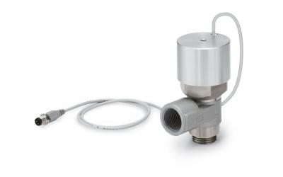 Válvula de retenção pilotada   com monitoramento por sensor XT34-303