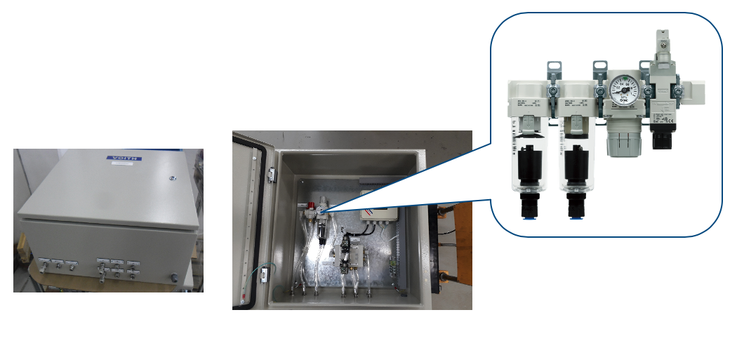 Válvula Shut Off Elétrica Série VP517Y / VP717Y