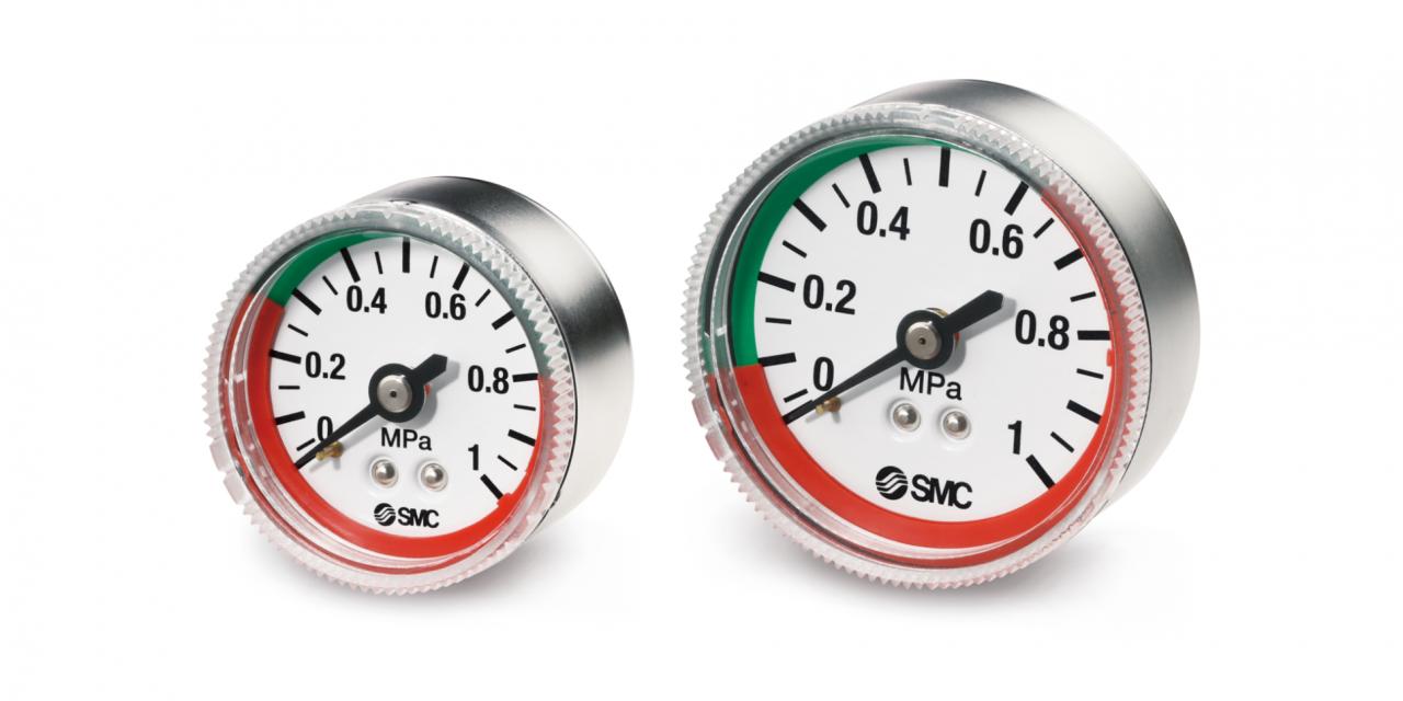 Novos manômetros das Séries G53 e G63 da SMC