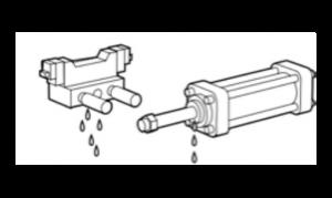 Falhas na válvula e no atuador SMC