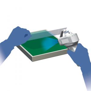 Exemplo de aplicação pistola de ar   SMC