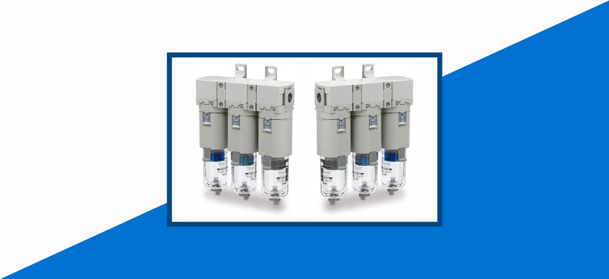 Como preparar o seu sistema de ar comprimido com a conexão modular do filtro AMK